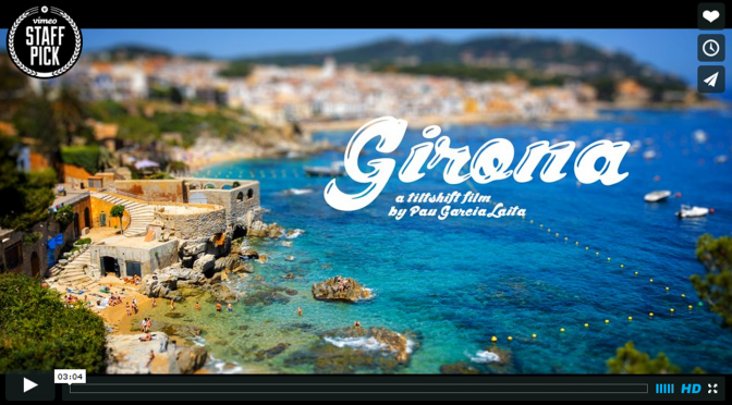 A miniature look to the catalan province of Girona.